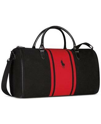 Red Parfums Duffle Bag Weekender Travel
