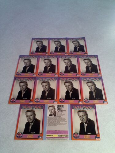*****George Gobel***** Lot of 14 cards / Hollywood Walk of Fame