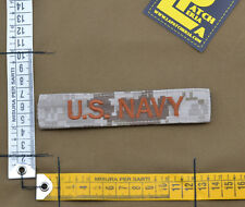 "Ricamata / Embroidered Patch ""U.S. NAVY"" NWU II / AOR 1 with VELCRO® brand hook"