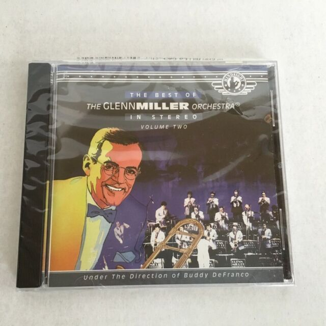 The Best of Glenn Miller Orchestra Volume Two In Stereo Buddy DeFranco CD New