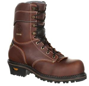 Georgia bota 9  registrador EH Composite Toe Impermeable Bota De Trabajo GB00236