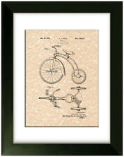 United States Patent Office Print Tricycle 1936 Art
