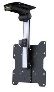 Details zu LCD Dreh, schwenk und klappbare Unterschrank / Deckenhalterung  für LCD-Fernseher