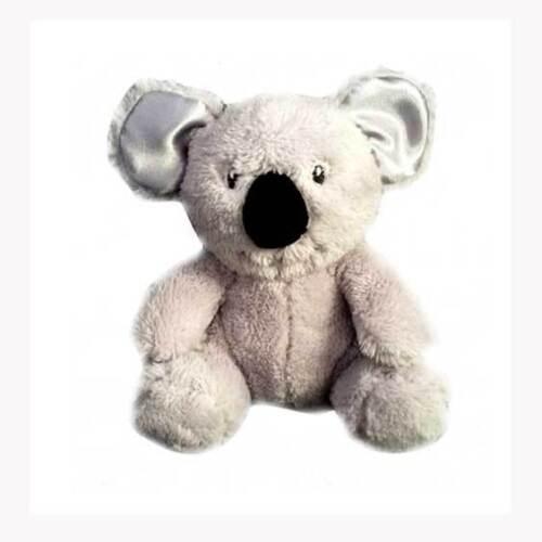 Grey Koala Rattle Baby Safe Soft Plush Toy 15cm Child Infant  by Huggable
