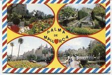Alte Postkarte - Impressionen von Palma de Mallorca