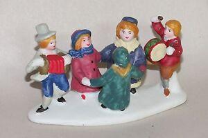 1992 Lemax Village Collection Festive Children Porcelain Figurine #23057 Retired