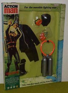 VINTAGE ACTION MAN 40th SOLDIER LOOSE BLACK PLASTIC RIFLE STRAP 200mm