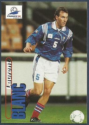 PANINI WORLD CUP 98 #015-FRANCE /& MARSEILLE-LAUREN BLANC