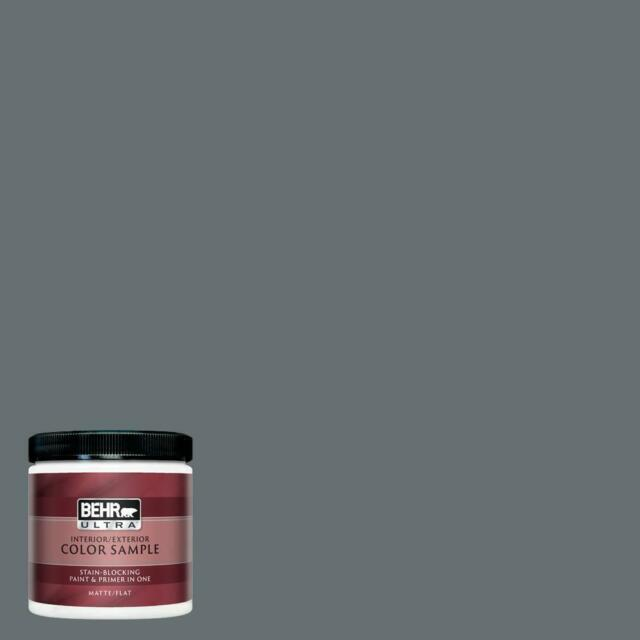 8 Oz P490 3 Big Chill Semi Gloss Enamel Interior Exterior Paint And R In One S For Sale Online Ebay