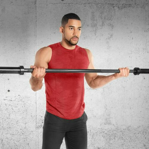 1.5m 5ft Olympic Weightlifting Bar For Cross Training Weight Lifting With Hole