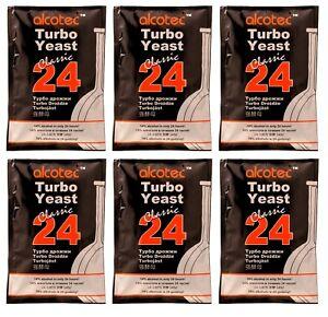 Pack of 6 Alcotec Whiskey Turbo Distillers Yeast