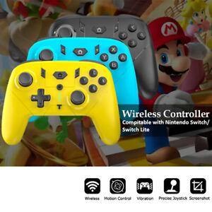 New Nintendo Switch/Lite pro controller wireless Gamepad Joypad Joystick Remote