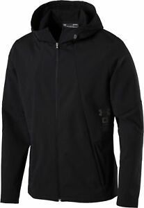 Under-Armour-Herren-Laufjacke-Runningjacke-STORMCYCLONE-JACKET-schwarz