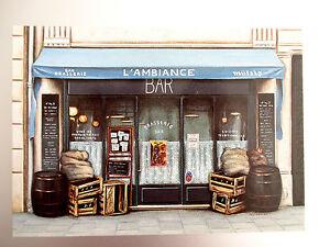 Carte-Postale-Illustrateur-Fernando-da-Cunha-L-039-Ambiance-Bar