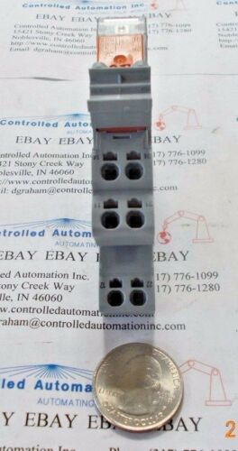Wago 788-312 Relay w// Base DPDT 8A 24VDC Pack of 3