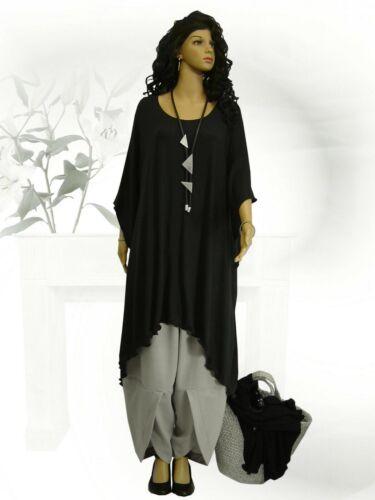 PoCo DeSiGn° LAGENLOOK Elfen Dream Tunika Long-Shirt Überwurf Kleid L-XXL-XXXL