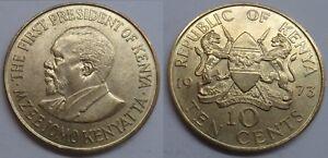 Kenia 10 Cents 1973
