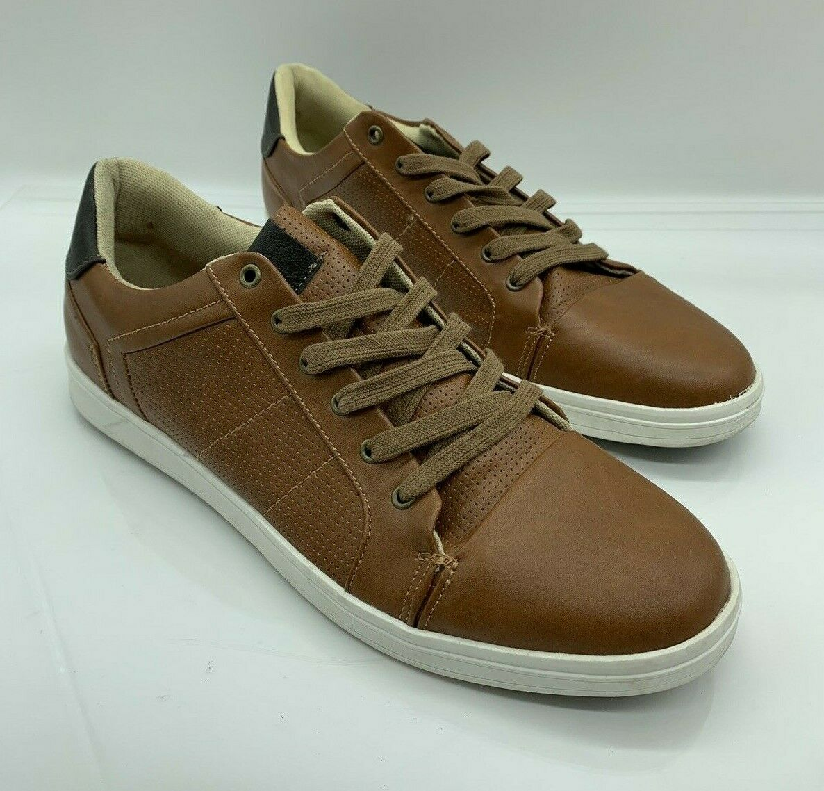 Goodfellow & Co. Men's Eddie Casual Lace Up Sneakers Tan US 12M # S-23