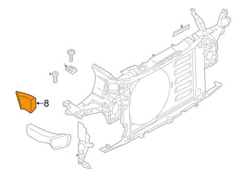 Mini Neuf Authentique R60 R61 S JCW Brake conduit air Channel Arrière Droite O//S 9802122