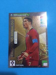 Top-master-C-Ronaldo-road-er-UEFA-EURO-2020-Panini-Adrenalyn-XL-RARE-n-4-NEW
