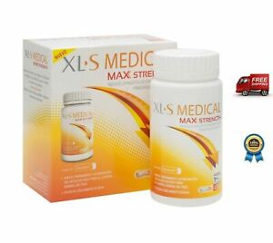 Details about XLS MEDICAL MAX STRENGTH 120 caps - WEIGHT LOSS one month supply!!!