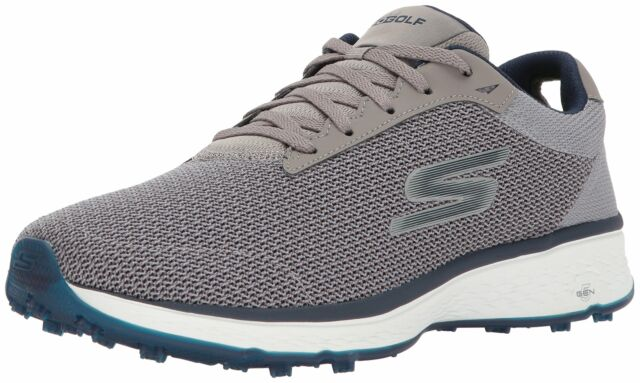 5467bcada4694 Skechers Golf Men's (7.5)Go Golf Fairway Golf Shoe, Gray/Navy, 7.5 2E US