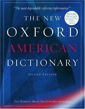 The New Oxford American Dictionary (2nd Ed.) Hardcover with CD-rom (2000+ pages)