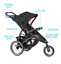 thumbnail 1 - New Pink Girl's Single Baby Stroller Jogger Folding Child Travel Carriage Infant