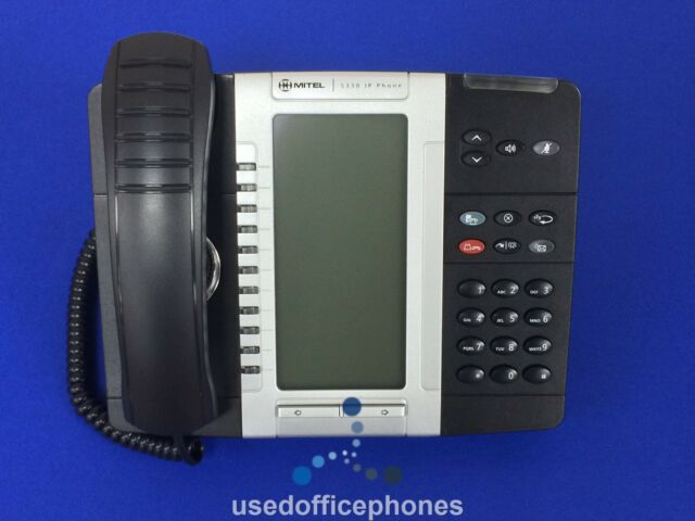 5 X Mitel 5330 IP Phone Backlit 50005804 -
