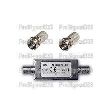 Amplificateur TNT / SATELLITE, complet , JOHANSSON 9617 + fiches F