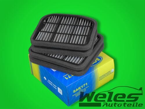 P1171 espacio interior filtro de carbón activado 2 St mercedes w220 w210 e 240 250 280 430