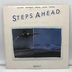 Steps Ahead - Modern Times LP NM- 60351-1-E Elektra 1984 Vinyl Record