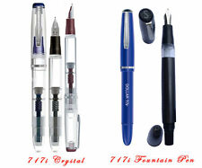 5x dollar demonstrator transparent and dollar 717i fountain pen from Pakistan
