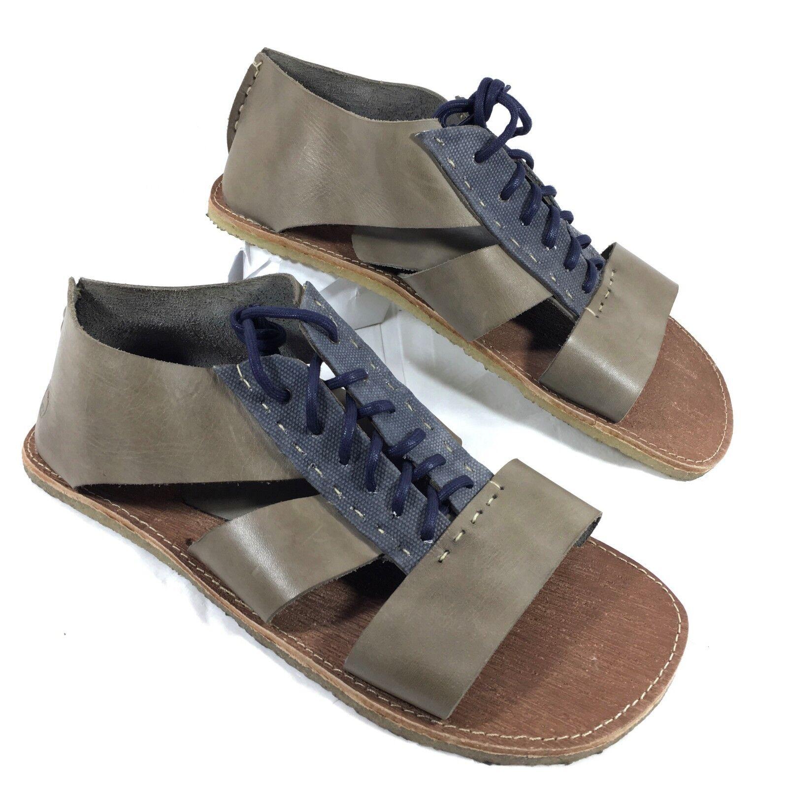 nyA Artola Brooklyn Gladiator Sandaler Bspringaaat blått läder läder läder Sz 10.5  fri leverans
