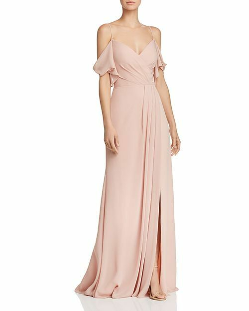 Watters Aldridge Cold-Shoulder Gown MSRP  310 Size 6 A 147 NEW