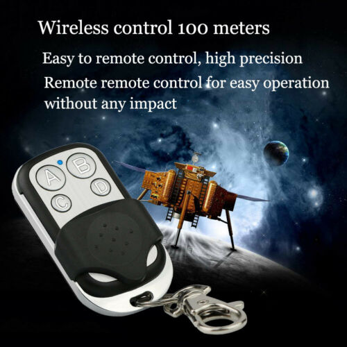 Universal 4 Button Gate Garage Opener Remote Control 433.92 MHz Rolling Code US