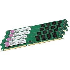 8GB = 4x 2GB Kingston DDR3 1333 PC3-10600 CL9 KVR1333D3N9/2G RAM Arbeitsspeicher