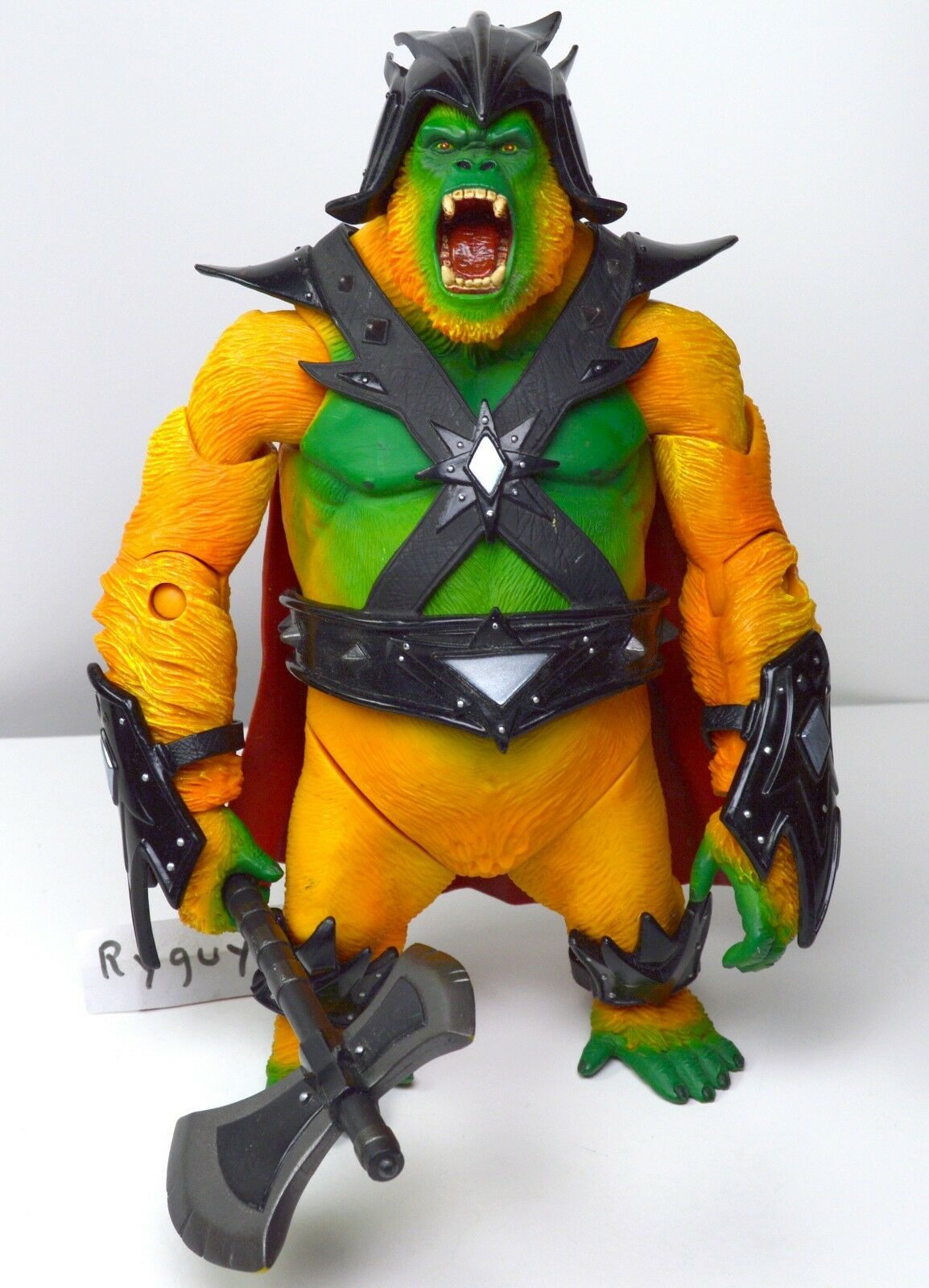 MOTUC, Gygor figure, Masters of the Universe Classics, complete, He-Man, axe, ax