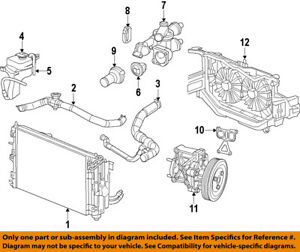image is loading chrysler-oem-engine-coolant-thermostat-housing-4884571ab
