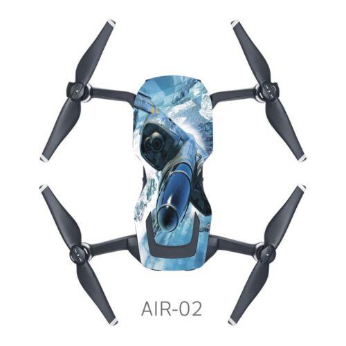 New PVC Stickers Decal Skin Cover Wrap Guard For DJI Mavic Air Drone Waterproof