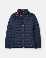 Joules Womens 212409 Chevron Quilted Jacket - French Navy