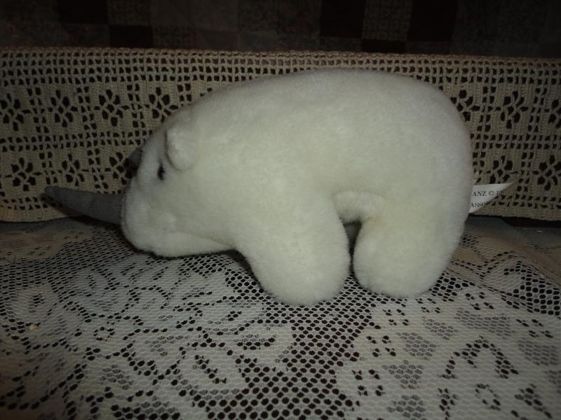 Ganz 1996 RHINOCEROS Stuffed Plush Retirot
