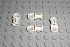 LEGO Technic 4x Pin Gelenk Verbinder weiss Toggle Joint smooth 44 32126 42064