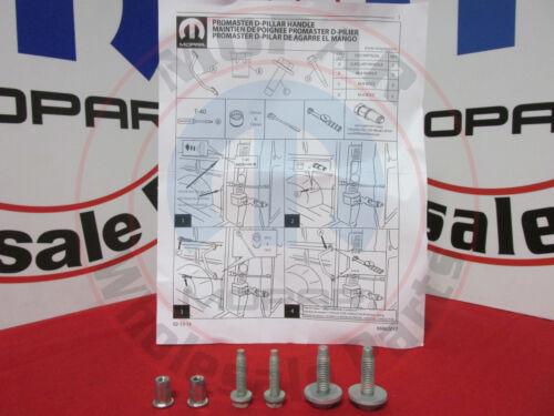 RAM PROMASTER Heavy Duty D Pillar Rear Cargo Door Handle Kit NEW OEM MOPAR