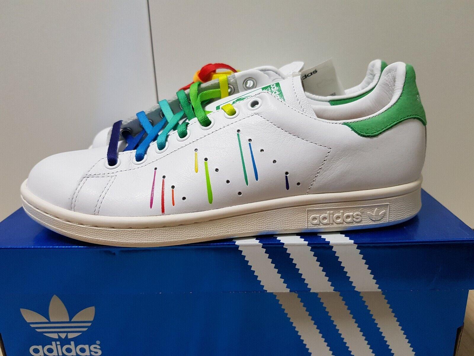 adidas stan smith leather rainbow lgbt