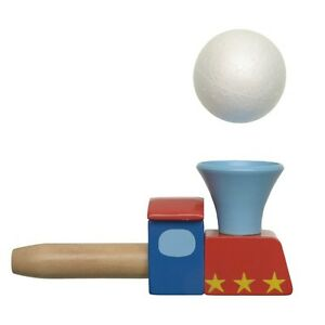 Wooden Train Blow Pipe Ball Oral Motor Speech Therapy