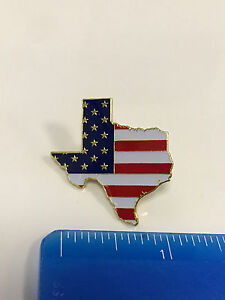 Image Is Loading Texas State Lapel Pin TX US Flag American