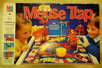 MOUSE TRAP BOARD GAME BY MB GAMES BIG BOX EDITION DATED 1986 – For Spare Parts