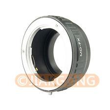 Minolta MC MD Lens to Fujifilm X Mount Fuji X-Pro1 X-M1 X-E1 X-E2 X-Pro1 Adapter