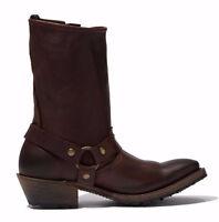 Vintage Shoe Company Women's Eliza Choc Sz 9.5 M Leather Riding Boots Western